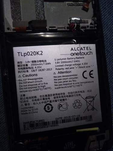 Pila alcatel original tlp020k2 one touch 6039h 6039y 6039k