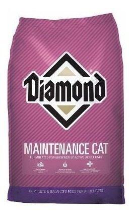 Alimento croqueta gatos diamond maintenance cat 2.7kg