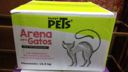 Arena gato 12.5kg y arenero tapa puerta filtro pala
