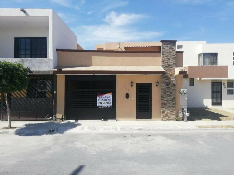 Casa venta en escobedo centro remodelada