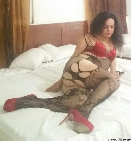 Fernanda Trans cachonda y Traga vergas en playa del Carmen