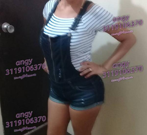 Hola soy angy chica agradable y discreta