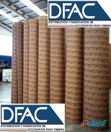 Tubocimbra para el colado de columnas redondas de concreto de 40 cm
