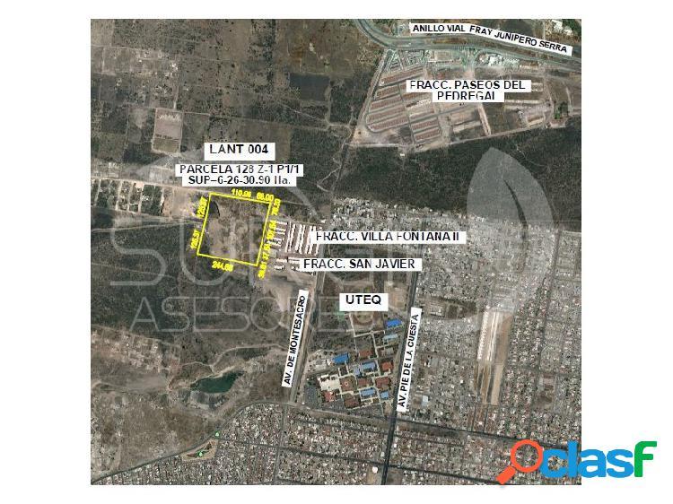 Terreno en venta cerca de fray junipero, ideal para construir vivienda, paseos del pedregal