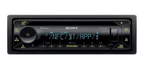 Auto estéreo sony mex-n5300bt bluetooth multicolor cd usb