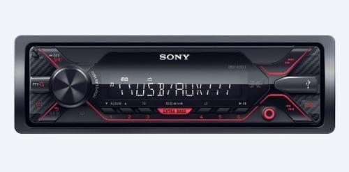 Autoestéreo sony bluetooth usb auxiliar radio am/fm
