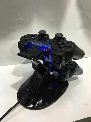 Base cargador 2 controles dualshock 3 ps move sony ps3 nuevo