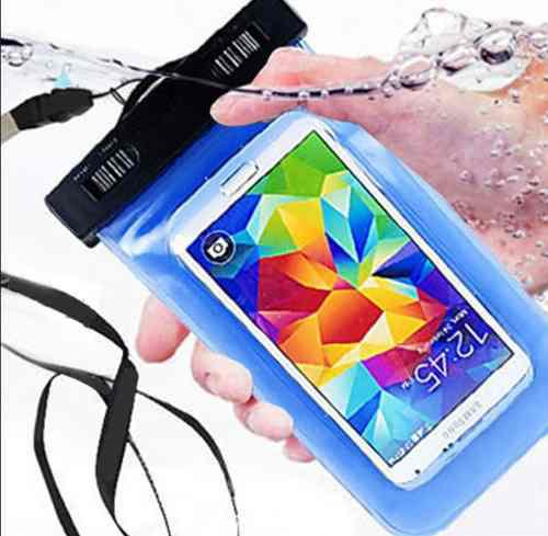 Bolsa protectora contra agua para smartphone samsung iphone
