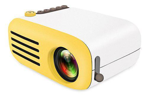 Proyector portatil mini led hd lcd yg200 rca hdmi tv video