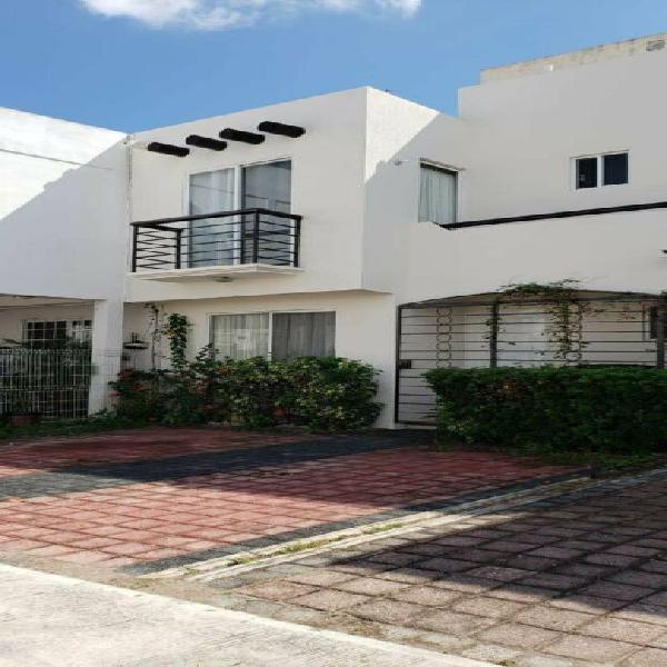 Rento excelente casa de 3 hab amueblada en villa marino