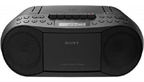 Radio grabadora con cd, cassete, am/fm, mp3 sony refurbish