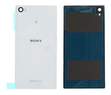 Tapa trasera batería blanco sony xperia z1 c6903 + adhesivo
