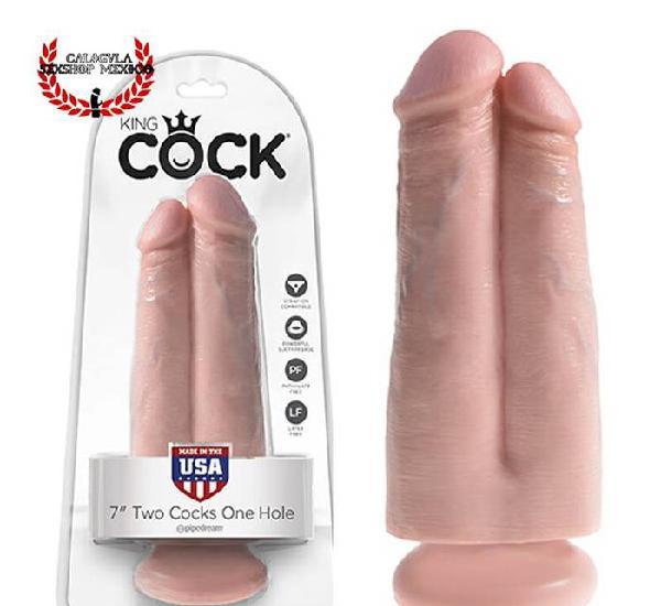 Dildo en forma de DOBLE pene sexo anal o vaginal Pipedream K
