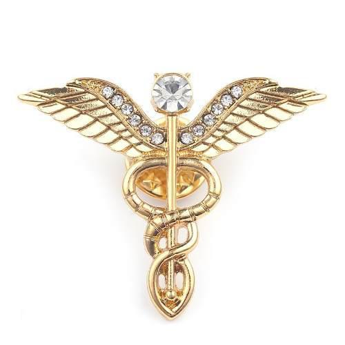 Pin dije emblema medicina medico enfermeria doctor broche
