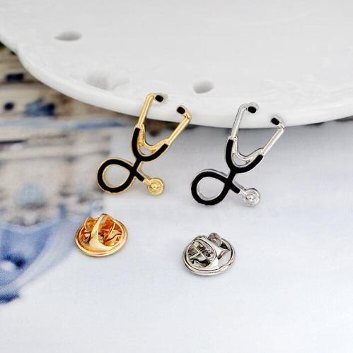 Pin estetoscopio pin médico doctora enfermería doctor