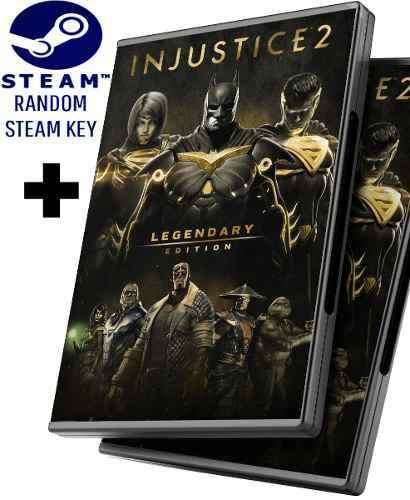 Random steam key + injustice 2 edición legendaria + dlcs -