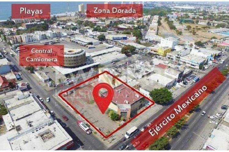 Terreno con edificio en venta para desarrollos varios.