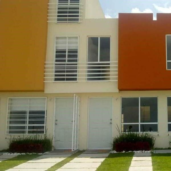Bonita casa de 2 recamaras sin balcón en los héroes san