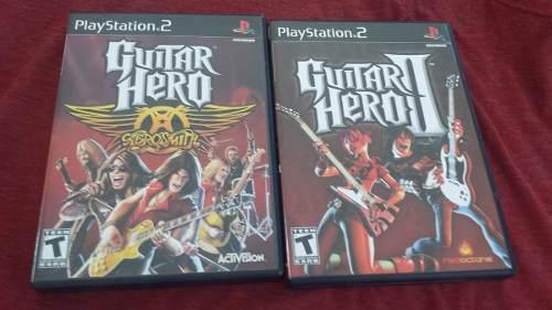 Juegos guitar hero playstation 2
