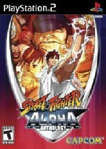 Juegosstreet fighter alpha anthology - playstation 2..