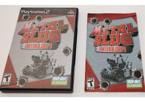 Metal slug anthology completo playstation 2 ps2, 7 juegos