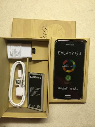 Nuevo samsung galaxy s5 sm-g900a negro 16gb att desbloqueado
