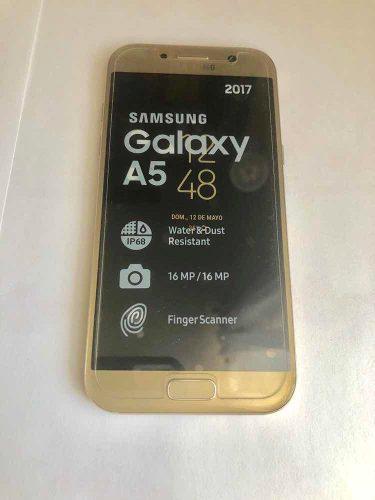 Samsung a5 2017 como nuevo y libre de fabrica
