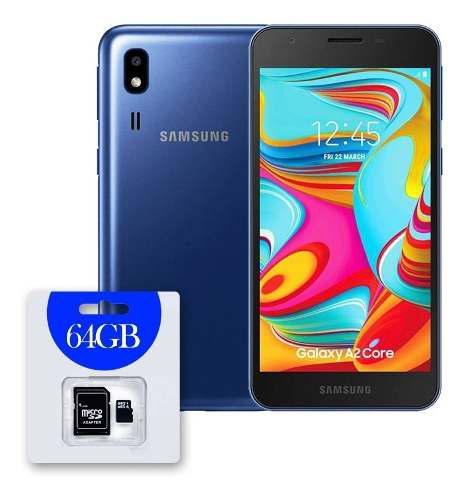 Samsung galaxy a2 core 16gb octa-core + micro 64gb dual sim