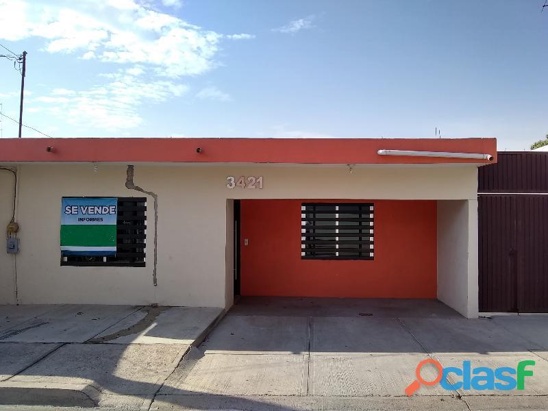 Casa en venta en colonia guadalupe victoria en culiacán