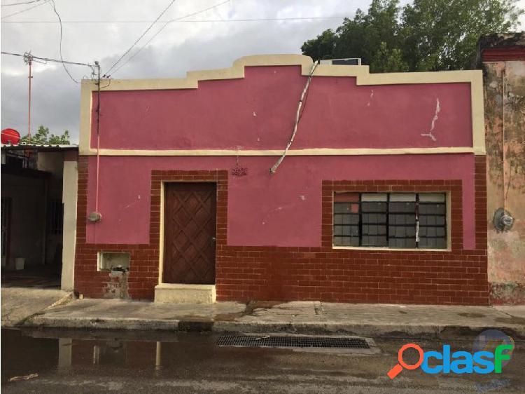 Casa en centro de merida para remodelar
