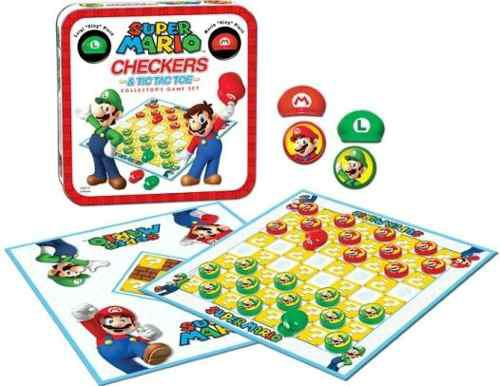 Board game super mario checkers