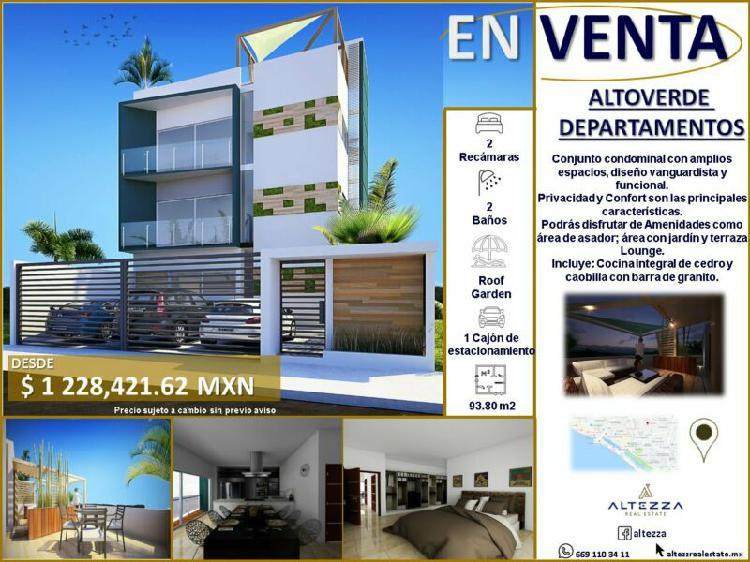 Departamentos en venta con buena ubicación en mazatlán