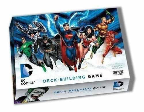 Dc comics deckbuilding game juego de mesa