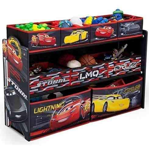 Delta juguetero organizador juguetes pixar cars grande
