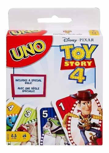 Juego mesa cartas uno toy story pixar mattel envio incluido
