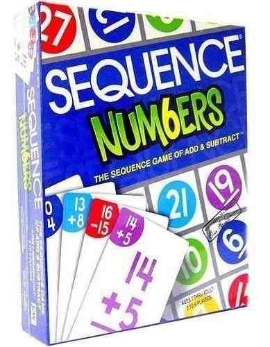 Juego sequence numeros - jax ltd