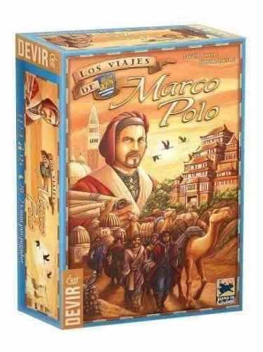 Los viajes de marco polo - en español juego de mesa