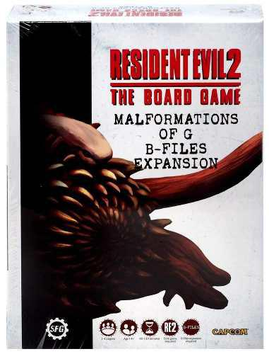 Resident evil 2: the board game malformations of g b-files e