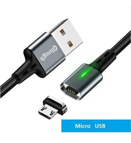 Cable magnetico micro usb carga rapida 3.0 cargador y datos