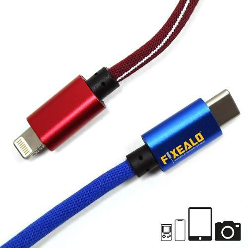 Cable usb rudo lightning iphone ios / android / v8 / tipo c