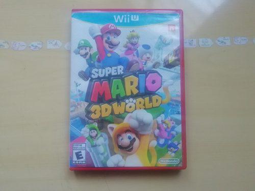 Juegos wii u super mario 3d world