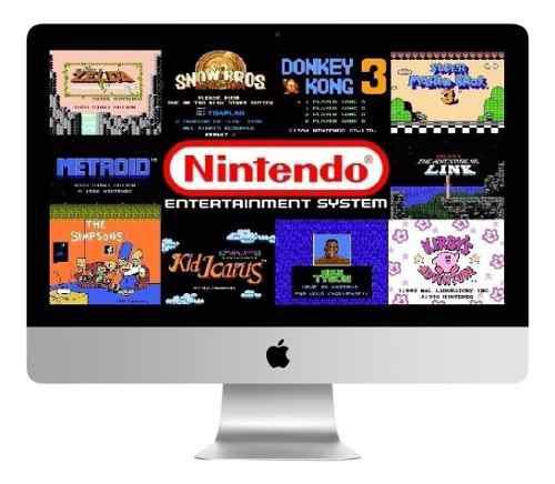 Paquete de juegos755 juegos nintendo nes para mac