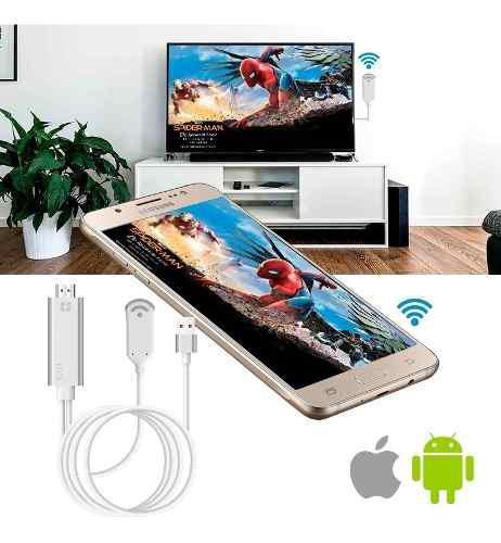 Shoptech adaptador wifi a hdmi celular a tv - envío gratis!