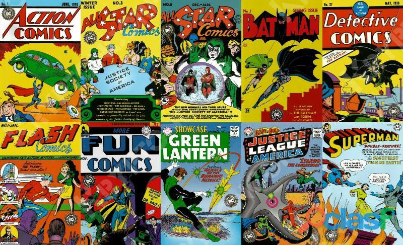 Busco coleccion comics clasicos dc mexico smash