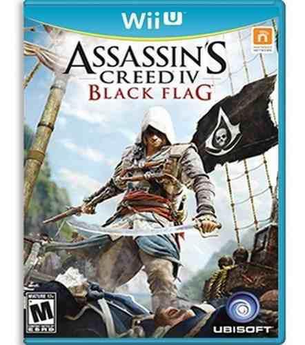 Assassins creed 4 black flag wii u nuevo y sellado juego