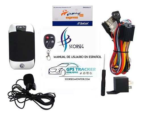 Gps 303g localizador plataforma manual español chip telcel