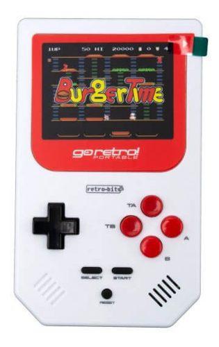 Mini consola + portatil + videojuego go retro! + 260 juegos