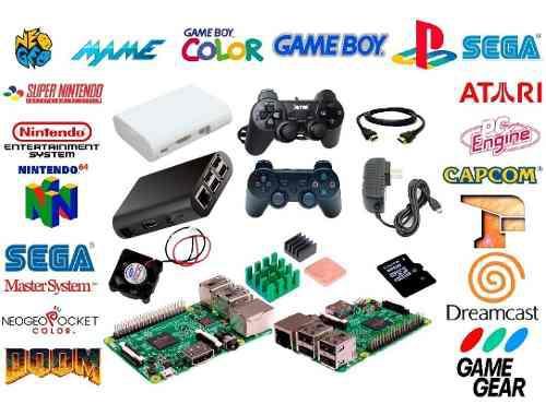 Mini consola videojuegos retro 64gb 2 ctrl 1+1 recalbox+kodi