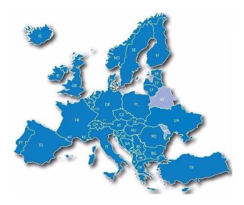Nuevo y ultimo mapa city navigator europa italia españa