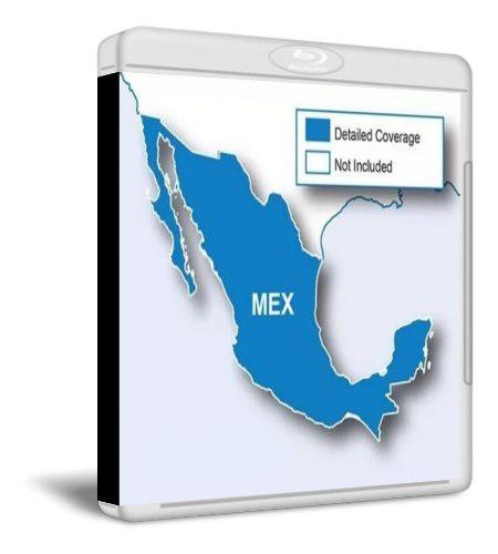 Nuevo y ultimo mapa city navigator mexico para gps garmin